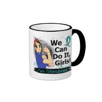 Rosie Anime WCDI Scleroderma Ringer Mug