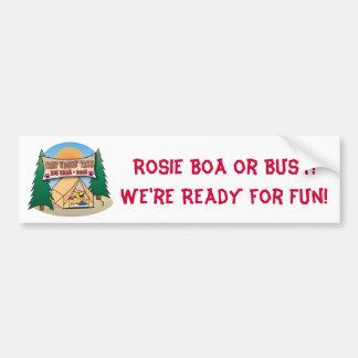 Rosie Boa Bumer Sticker