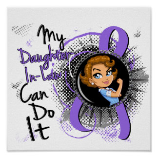 Rosie Daughter-In-Law Can Do It Hodgkin's Lymphoma Print