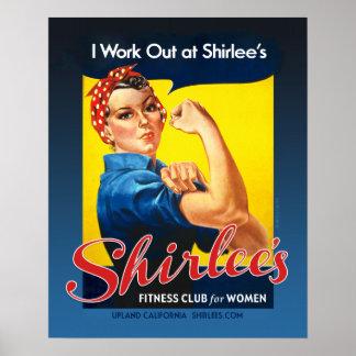 Rosie de Shirlee el poster del remachador