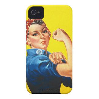 Rosie del remachador el caso del iPhone 4 de iPhone 4 Protectores