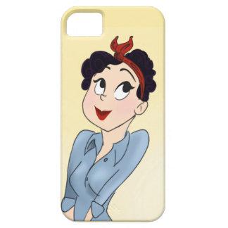 Rosie el caso de Iphone 5S del remachador iPhone 5 Funda