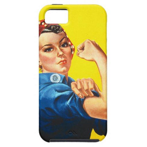 Rosie el caso del iPhone 5 del remachador iPhone 5 Funda