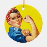 Rosie el ornamento del remachador adorno para reyes