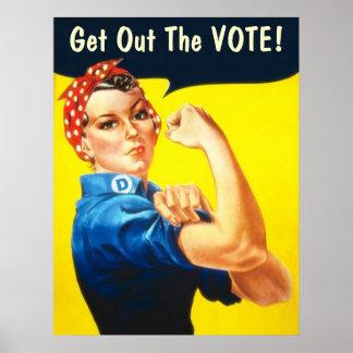 Rosie el poster del remachador GOTV