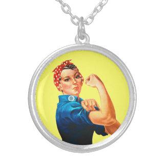 Rosie el poster del remachador WWII Collar