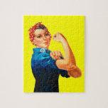 Rosie el poster del remachador WWII Puzzles