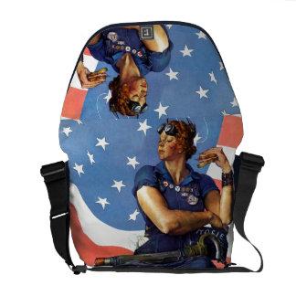 Rosie el remachador bolsas de mensajería