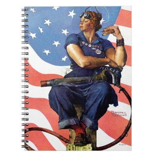 """""""Rosie el remachador """" Cuadernos"""