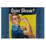 Rosie el remachador: ¡Demostración de arma! Tabla Para Cortar