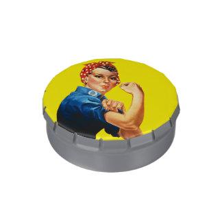 Rosie el remachador jarrones de dulces