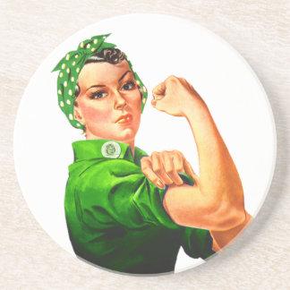Rosie el remachador - los militares apoyan posavasos manualidades