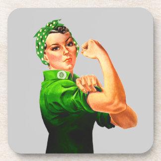 Rosie el remachador - los militares apoyan posavaso