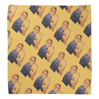 Rosie el remachador podemos hacerlo amarillo del bandanas