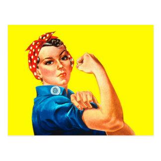 Rosie el remachador - podemos hacerlo, icono postal