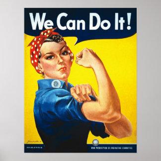 ¡Rosie el remachador, podemos hacerlo! Impresión d Posters