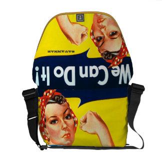 Rosie el remachador podemos hacerlo la bolsa de bolsa messenger