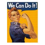 Rosie el remachador podemos hacerlo los lunares postal