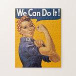 ¡Rosie el remachador podemos hacerlo! Lunares rojo Puzzle Con Fotos