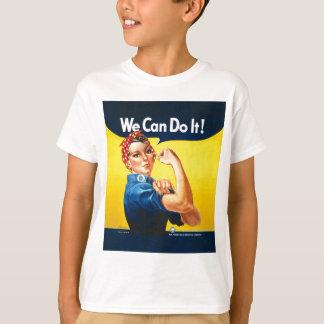 """¡Rosie el remachador """"podemos hacerlo! """" Playera"""