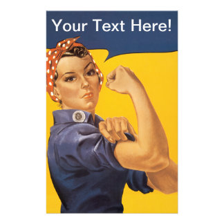 ¡Rosie el remachador podemos hacerlo! Su texto aqu Papelería De Diseño
