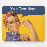 ¡Rosie el remachador podemos hacerlo! Su texto aqu Alfombrillas De Raton