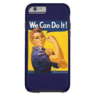 Rosie el remachador podemos hacerlo vintage funda resistente iPhone 6