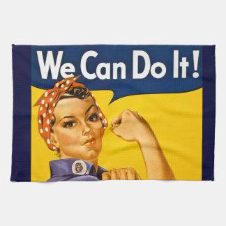 Rosie el remachador podemos hacerlo vintage toalla