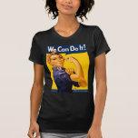 Rosie el remachador podemos hacerlo vintage camiseta