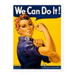 Rosie el remachador podemos hacerlo vintage postal