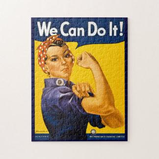 Rosie el remachador podemos hacerlo vintage puzzle