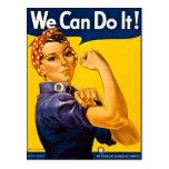 Rosie el remachador podemos hacerlo vintage tarjetas postales