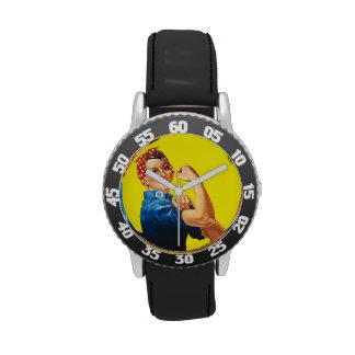 Rosie el remachador reloj de mano