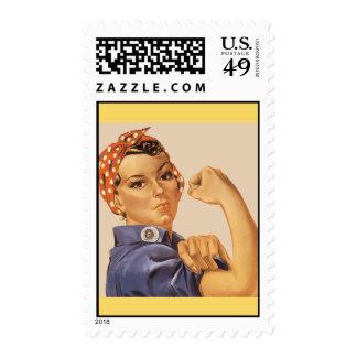 ¡Rosie el remachador! Sello Postal
