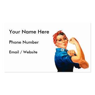 Rosie el remachador tarjetas de visita
