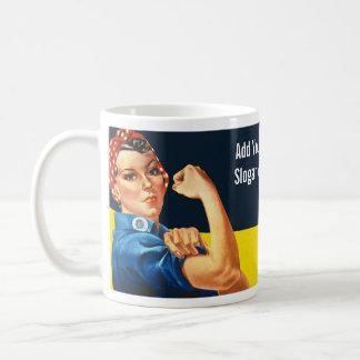 Rosie el remachador taza de café