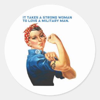 ROSIE EL REMACHADOR - toma a una mujer fuerte Etiqueta