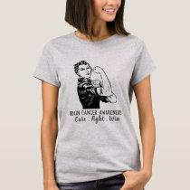 Rosie Fights Brain Cancer T-Shirt