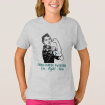 Rosie Fights Ovarian Cancer T-Shirt