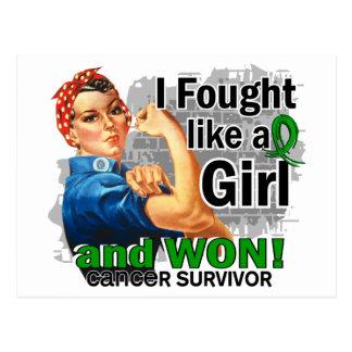 Rosie Fought Won Bile Duct Cancer Survivor.png Postcards