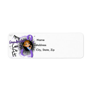 Rosie Grandmother Can Do It H Lymphoma Return Address Label