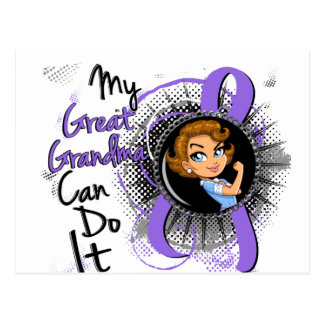 Rosie Great Grandma Can Do It H Lymphoma Postcard