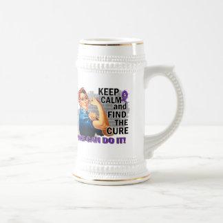 Rosie guarda anorexia tranquila tazas de café