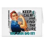 Rosie guarda Cancer.png cervical tranquilo Tarjeta
