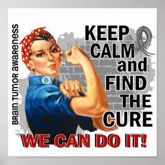 Rosie guarda el cerebro tranquilo Tumor.png Poster