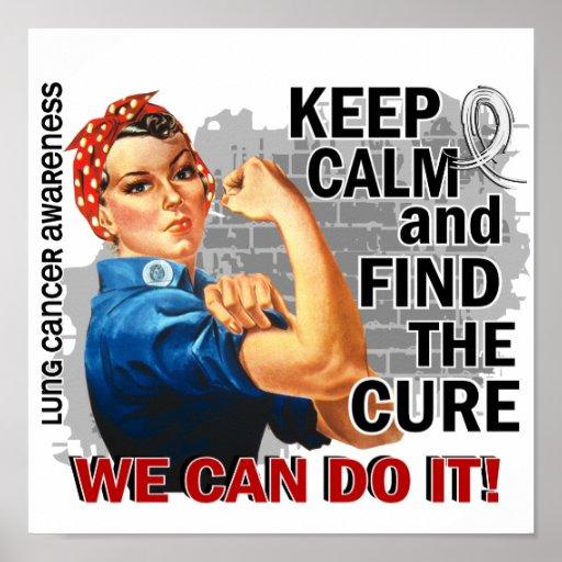 Rosie guarda el pulmón tranquilo Cancer.png Impresiones