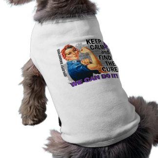 Rosie guarda Epilepsy.png tranquilo Playera Sin Mangas Para Perro
