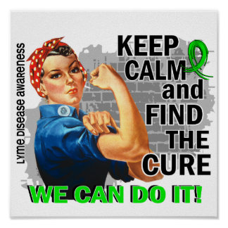 Rosie guarda Lyme tranquilo Disease.png Impresiones