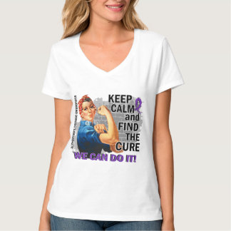 Rosie Keep Calm Alzheimer's Shirts