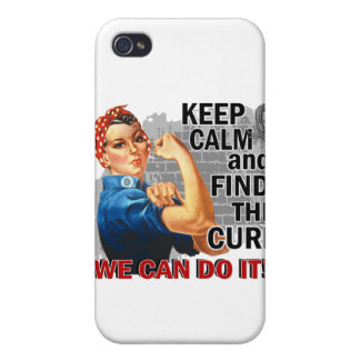 Rosie Keep Calm Brain Tumor.png Cover For iPhone 4